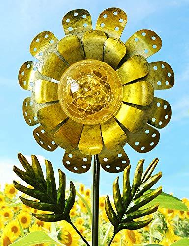 Solar Sunflower Garden Light in US - 2