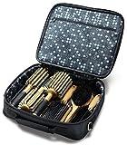 Sam Villa Signature Series 6 Piece Brush Set with Case