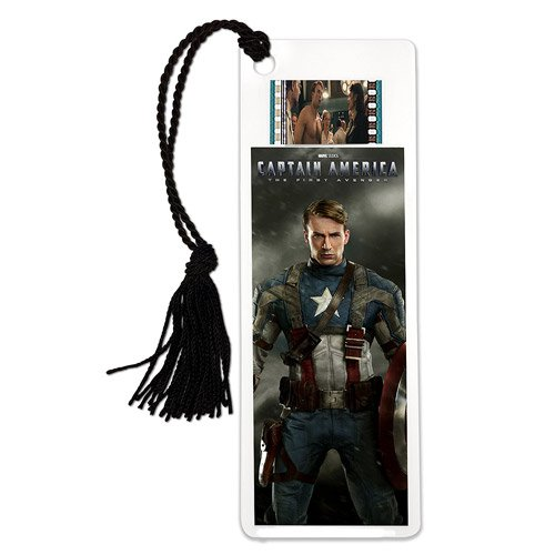 Captain America Series 4 Film Cell Bookmark (Marvel Film Cell Bookmark)