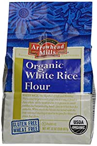Amazon.com : Arrowhead Mills Organic White Rice Flour, 32