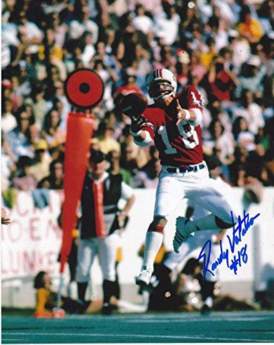 Autographed Randy Vataha Photo - 8x10 - Autographed NFL Photos from Sports Memorabilia
