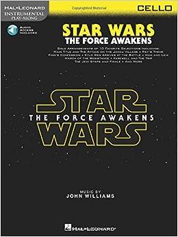 amazon com star wars the force awakens cello instrumental play