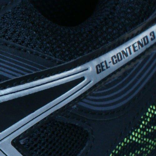Asics Gel-Contend 3, Zapatillas de Entrenamiento para Hombre Black