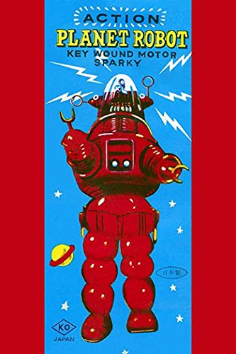 Action Planet Robot - Buyenlarge 0-587-24987-0-P1218 Action Planet Robot Paper Poster, 12
