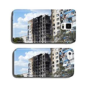 Ruined house in Lysychansk cell phone cover case iPhone6