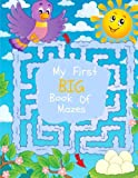 My First Big Book of Mazes: Maze Puzzles for Kids: Big Book of Mazes for Kids Ages 4-8
