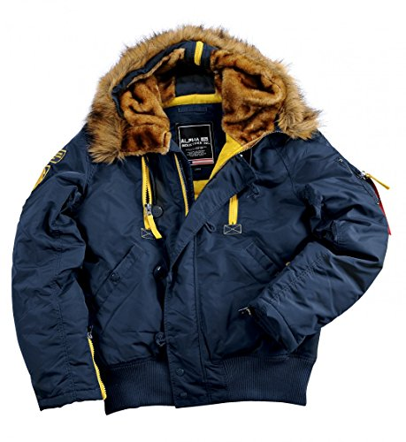 Alpha Invernale Pps N2b Uomo Giacche Blue Blu Industries Giacca rep pBqgrIaBw