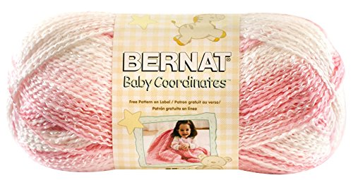 Bernat Baby Coordinates Yarn, Ombre, 4.2 Ounce, Strawberry, Single Ball