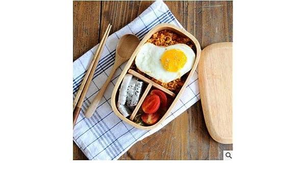 Cuberterías Combinadas Caja De Almuerzo De Estilo Japonés_Fu ...