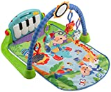 #5: Fisher-Price Kick & Play Piano Gym, Blue/Green