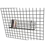 "Lot of 6 Retail Black CD/DVD/Cassette Shelves For Grid 24""L x 6""D x 6½""H"