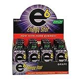 E6 6-Hour Energy Shot 12-2oz Bottle Pack of Grape
