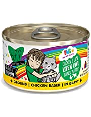 Weruva B.F.F. OMG - Best Feline Friend Oh My Gravy! Grain-Free Natural Wet Cat Food Cans, Chicken Recipes in Gravy