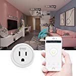 Smart plug, Gosund Mini Wifi Outlet Compatible with Alexa, Google Home & IFTTT, No Hub Required, Remote Control your home appliances from Anywhere, ETL Certified (4 packs)