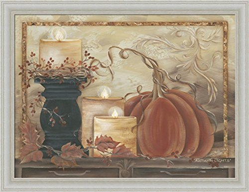 Autumn Lights Michele Musser Country Fall Decor Framed Art Print Wall Decor Picture