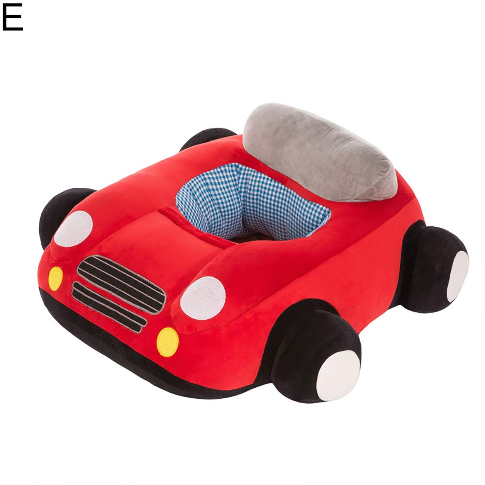 MJuan-clothing Colorful Baby Support Seat Plush Infant Sofa Learning Sit Keep Sitting Chair E