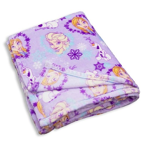 Disney Frozen Elsa Anna Olaf Ultra Soft Super Luxurious Blanket 60 X 80 - Ca Stores Napa In