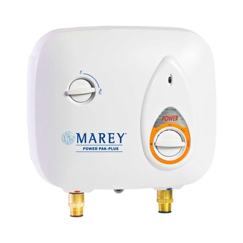 Marey Power Pak Plus Tankless Electric Water Heater, 110 VOLT