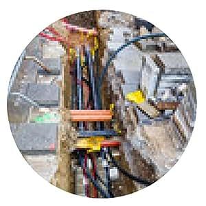 alfombrilla de ratón Construcción de Infraestructura - ronda - 20cm