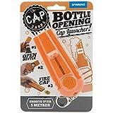 Cap Zappa Beer Bottle Opener Cap Launcher Shooter By Spinning Hat Fire Cap Shoot Over 5 Meters- Color Random