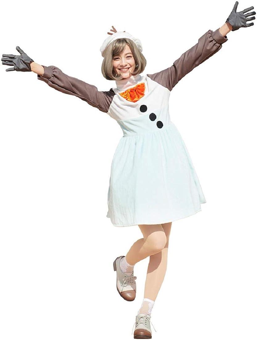 Disfraz de Olaf de Frozen de Disney, para Adolescente/Mujer, Talla ...