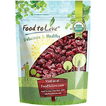 mini Food to Live Certified Organic Dried Cranberries