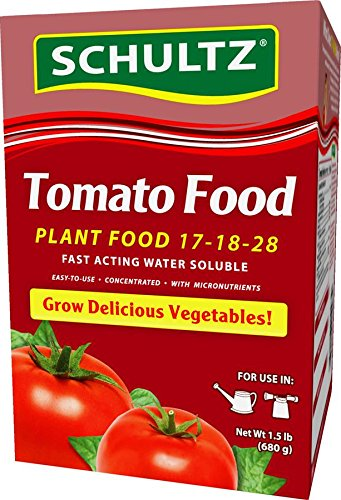 Schultz Water Soluble Tomato Food 17-18-28 (Soluble Tomato Water)