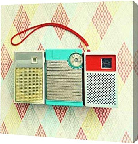 Vintage Transistor - PrintArt GW-POD-52-494DVO1048-16x16