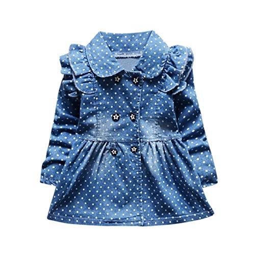 SsAAPInb Baby Fashion Cute Cartoon Long Sleeve Dress