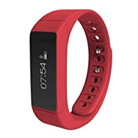 Fitness Tracker Waterproof, Touch Screen Activity SmartWatch Heart Rate Monitor Bluetooth Pedometer Calorie Counter, Water Resistant IP67 Smart Bracelet Sleep Monitor for Android and iOS