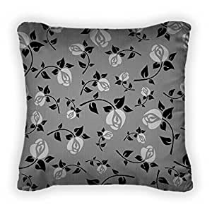Gear New Ornament With White Roses Throw Pillow