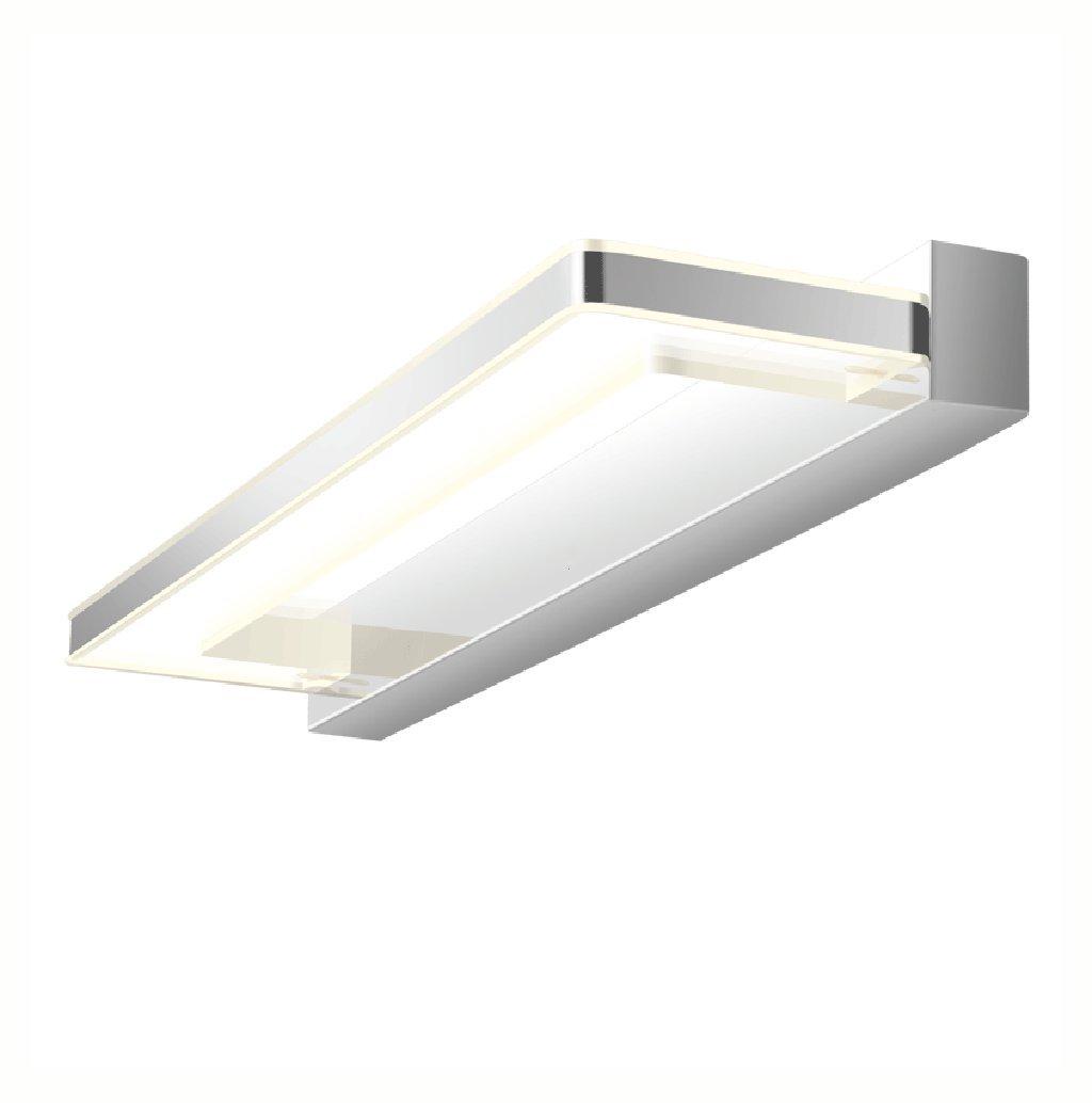 & Spiegellampen Spiegel-vorderes Licht LED Toiletten-Badezimmer-moderner Spiegelkabinett beleuchtet Feuchtigkeits-Spiegel-Lichter Badezimmerbeleuchtung (Größe   47cm)