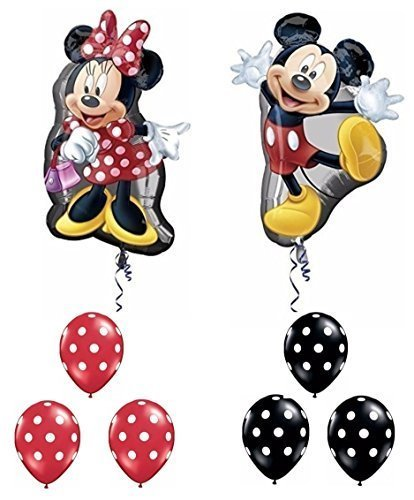 Mickey and Minnie Mouse Full Body Supershape Balloon