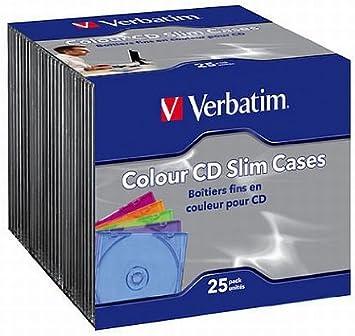 Verbatim CD-R 80MIN Datalife - Funda para CD (25 Unidades ...