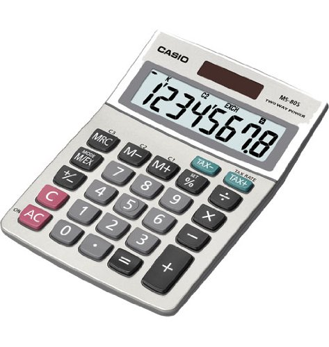 Casio MS80S Solar Plus Desktop Calculator