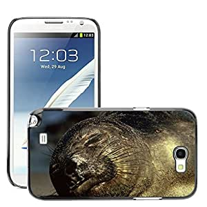 Super Stella Slim PC Hard Case Cover Skin Armor Shell Protection // M00106601 Northern Elephant Seal Animal Wildlife // Samsung Galaxy Note 2 II N7100