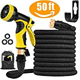 50FT Garden Hose Expanding Garden Water Hose Pipe with 9 Function Spray Gun