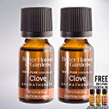 15 mL 100% Pure Essential Oil Set of 2 bundled with free 15 mL 100% Pure Essential Oil (Clove)
