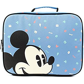 522896d816 Disney Mickey Mouse Pattern Square Travel Bag with Removable Shoulder Strap