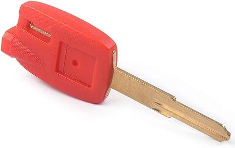 Roter Motorradschlüsselanhänger Mit Ungeschliffener Klinge 3 Magnetics Passend Für Suzuki Burgman An650 Küche Haushalt