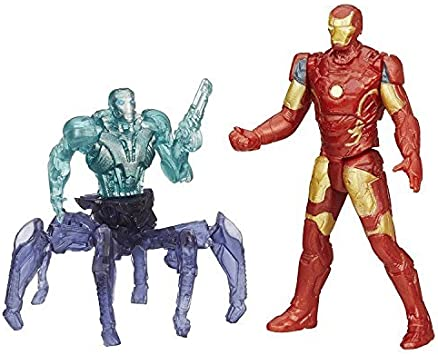 Marvel Avengers Age of Ultron Iron Man Mark 43 vs. Sub-Ultron 001 ...