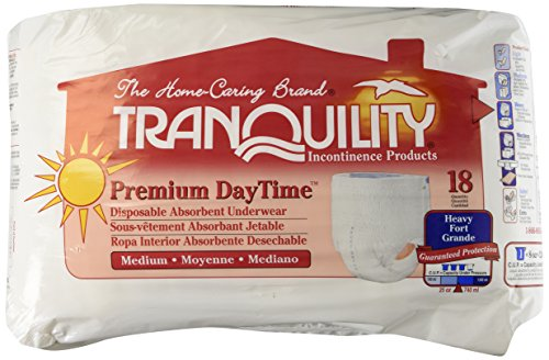 Amazon.com: Tranquility Premium DayTime Pull-On Diapers Size Medium Pk/18: Industrial & Scientific