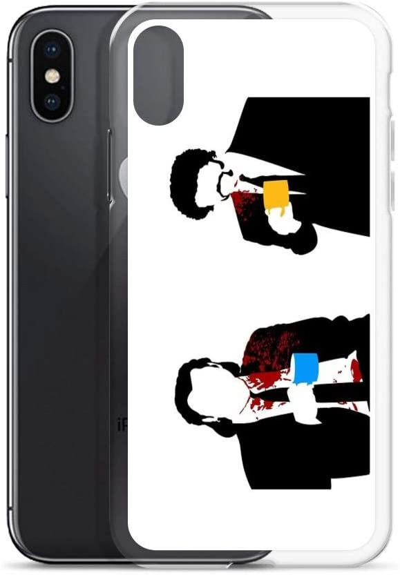 iPhone XR Case Clear Anti-Scratch Gourmet, Pulp Fiction Cover Phone Cases for iPhone XR, Crystal Clear