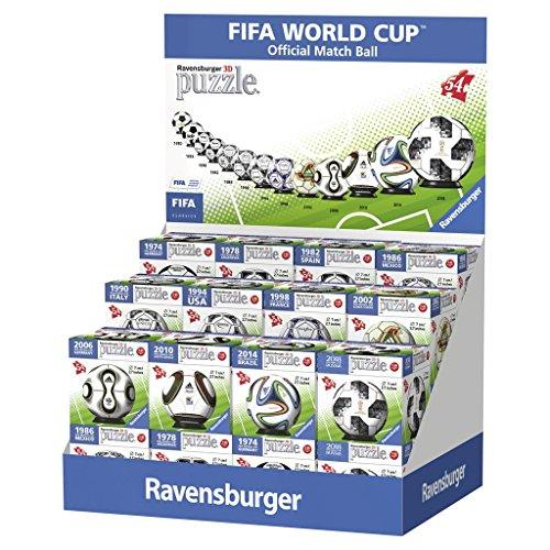 Ravensburger, Rompecabezas Balones Oficiales Adidas, 216 Piezas