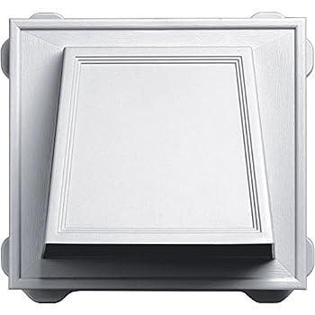 Builders Edge 140056774001 Hooded Ventilator, 6 in, White