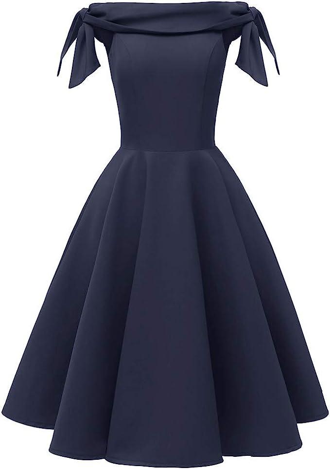 Mayogo Edel Damen Festliche Kleider Feder Quasten 50er Jahre Kleid Rockabilly Kleid Elegant Vintage Kleid Petticoat Kleid Gothic Kleid Prinzessin Kleid Hochzeit Amazon De Bekleidung