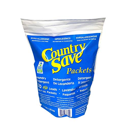 Country Save Powdered Detergent Packets (Laundry Detergent Country Save)