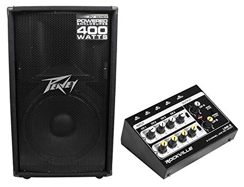 8 Channel 400w Powered Mixer - Peavey PV115D PV 115D 15