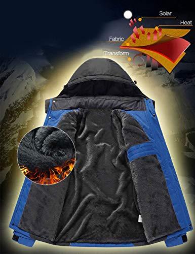 Donna Trapuntato Besbomig Snowboard Snowproof Per Incappucciato Giacche Impermeabile Abbigliamento Donne Caldo Verde Esterno Montagna Leggera Da Da Antivento Mens Antistatico UUqOfwBr