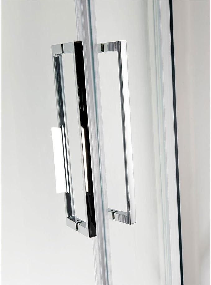 1100 x 900 sin Marco puerta corredera de recinto de la ducha con ...